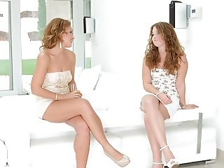 Pre party surprise by Sapphic Erotica - lesbian love porn
