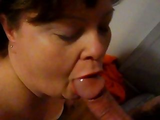 Wife cum swallow 6