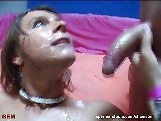 Multiple Cumshot Gangbang - Sexy Susi - P1 ---------