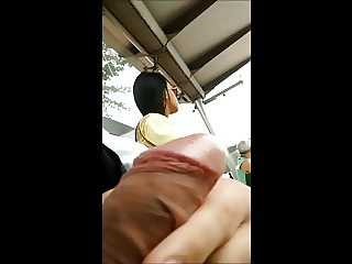 Masturbation in bus stop