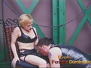 Saucy blonde slut enjoys banging a horny well-hung stud real