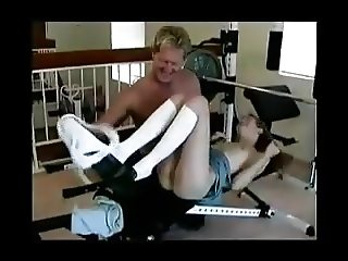 STP Anne Fucks Daddy In His Gym !