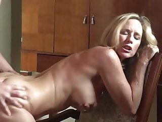 Mature slut fucked by her young lover