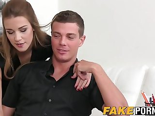 Ricky fucks hot female casting agent Alexis in her pussy