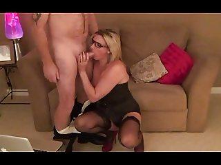 Secretary Sam Fucks her Boss