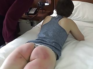 Ready ,...Set ,...Spank! (The Spanking of a Defiant Runner)