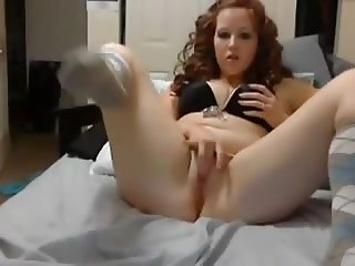 Sexy red with big ass and cute asshole!!!