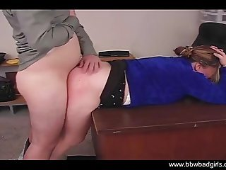 Spank That MILF Amateur BBW Ass