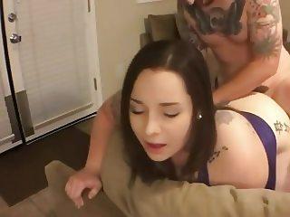Doggie style to orgasm