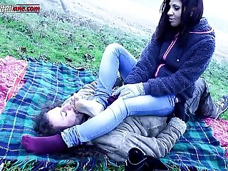 Lost In The Country First Part - Outdoor Foot Fetish