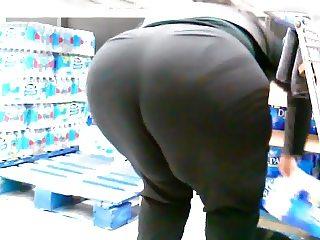 mASSive SSBBW Black Ebony Ass Bending Over!