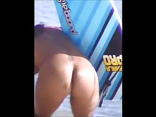Caught sexy milf slip nude