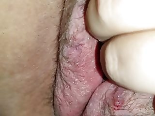 Wet pussy rub