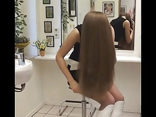 Long Hair, Hair, Hair Brushing