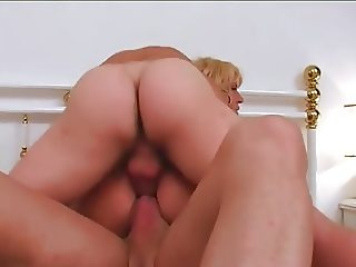 big boobs slut mom double anal