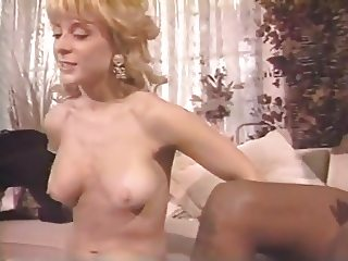 Nina's 1980's Pink Sock!