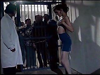 old prisonners watch beauty girl
