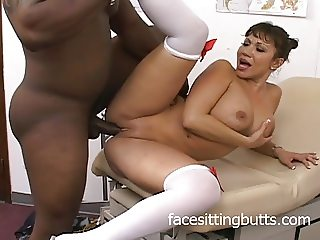 Big titted MILF is the best nurse around