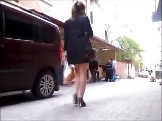 Turkish Street Pantyhose Legs