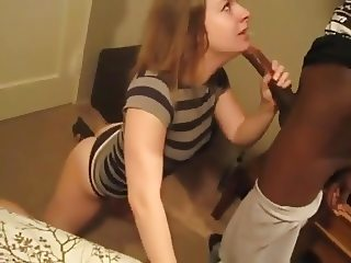 Wife Bitch Deep Hunger With Her Black Man