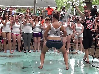 Amateur Wet T-Shirt Contest - Ponderosa 2016