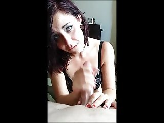 throat fucking and cum swallowing
