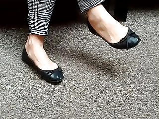 Candid milf shoes