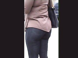 Tight Jeans So Tight Ebony Booty