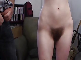 cum on hairy bush