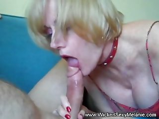 Melanie Likes The Deep Blowjob