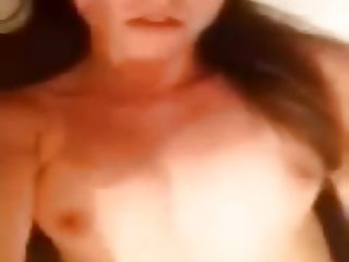 Selfie girl masturbating