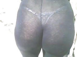 Esposa de Legging Trasparente