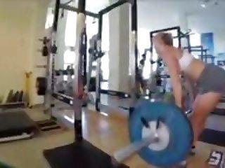 Lindsey Vonn hot workout
