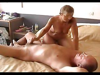 Wife handjob
