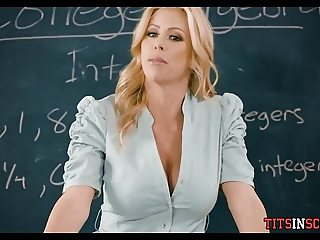Fucking His Hot Blonde Math Teacher