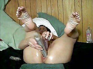LWJ - Black Amateur Gaping Ass