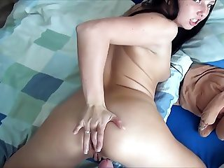 German girlfriend enjoys best anal sex ever