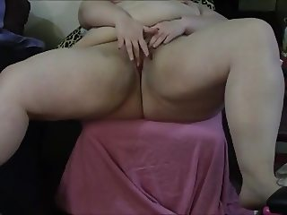 Playing with BBW Pussy and Ass PT1