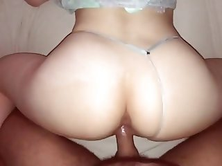 Beautiful ass fucked from behind