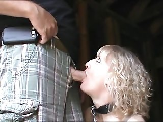 Sucking His Dick in Abandoned Cabin